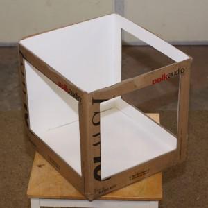 glued-poster-board-for-light-box