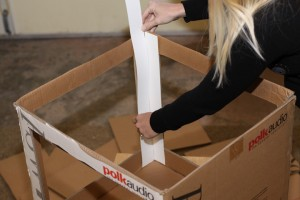 glueing-poster-board-for-light-tent