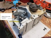 Stihl-031AV screw hole.jpg