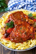 Image result for image chicken cacciatore