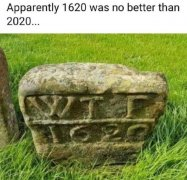 Apparently 1620 was no better than 2020 - WTF.jpg