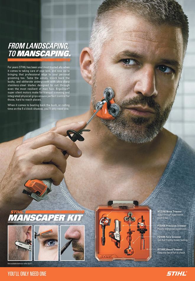 new stihl manscaping kit | arboristsite.com