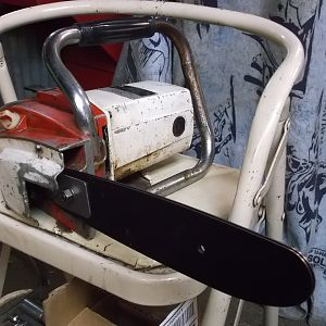 SEARS electric chainsaw