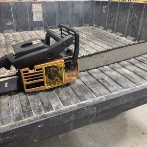Mcculloch Brown Timber Bear Chainsaw