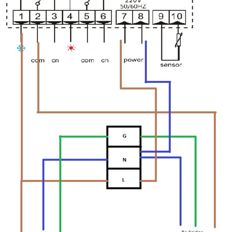 RC316Mwiring