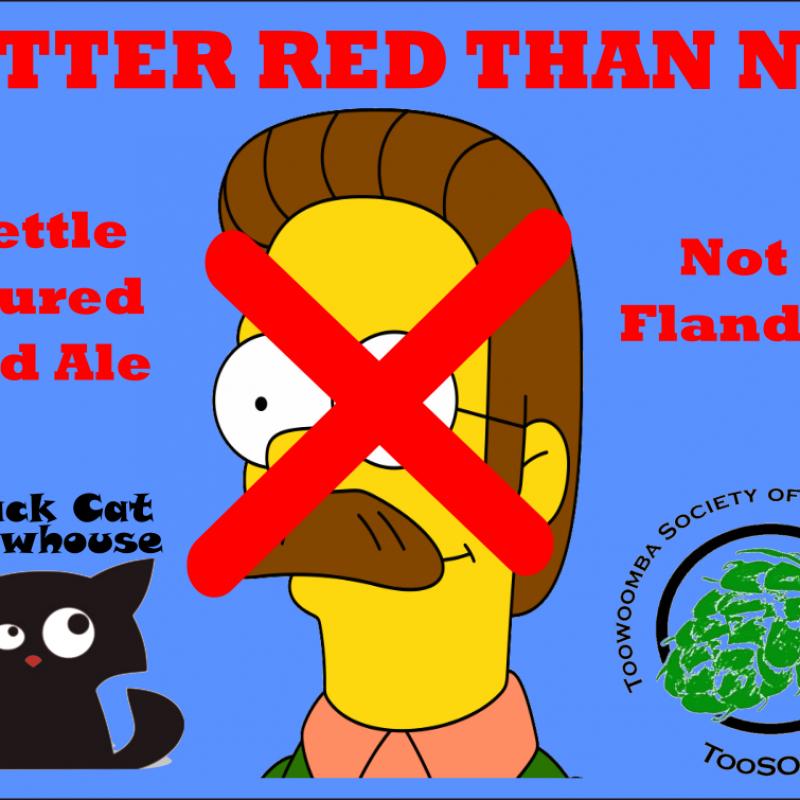 Better Red Than Ned Label V2