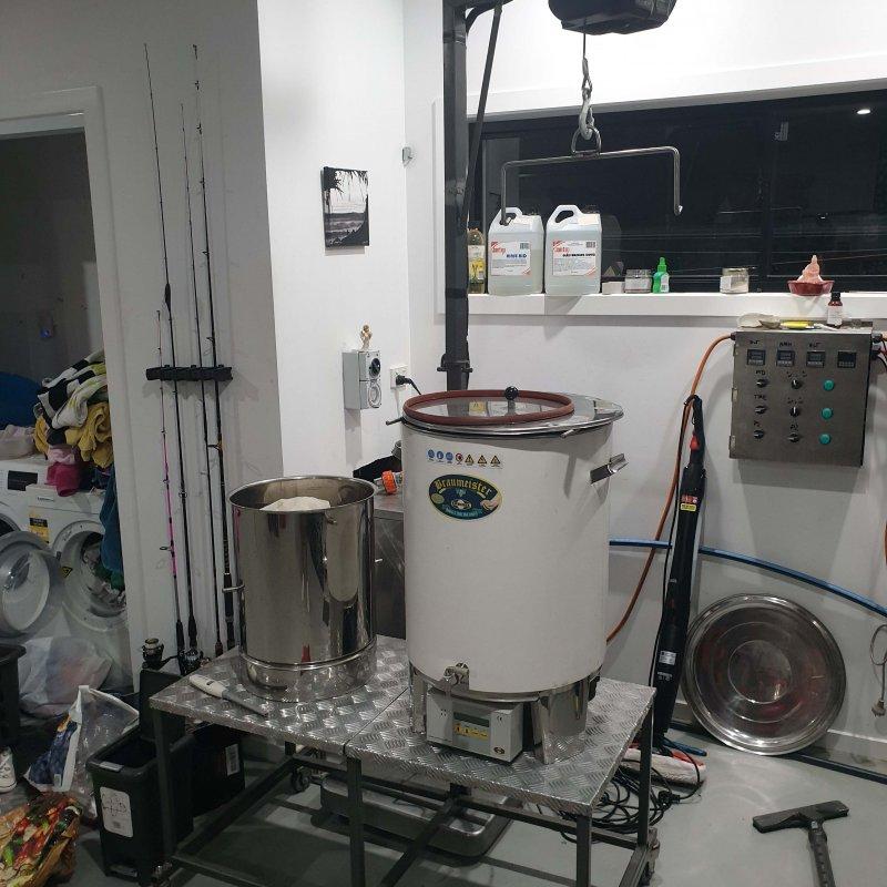 braumeister brew rig 50l