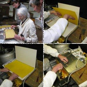 DIY wax foundation