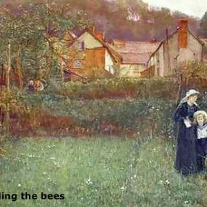 Charles Napier Hemy Telling the Bees