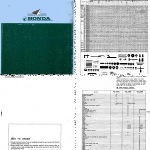 Honda Common Tool Manual- 1979