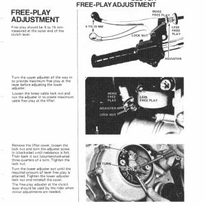 Honda Goldwing GL1000 1975 to 1979 Service Manual Page 10
