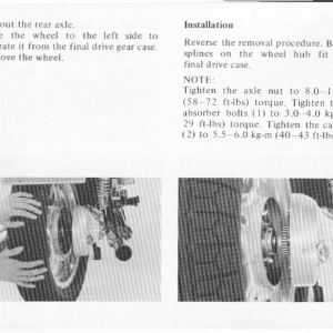 Honda Goldwing GL1000 1978 Owners Manual Page 42