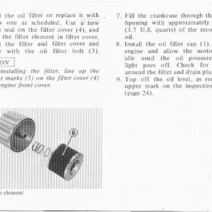 Honda Goldwing GL1000 1978 Owners Manual Page 49