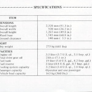 Honda Goldwing GL1000 1978 Owners Manual Page 64