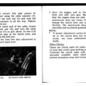 1982 A Owners Manual Pages 80 & 81