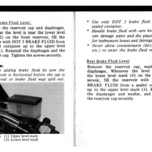 1982 A Owners Manual Pages 82 & 83