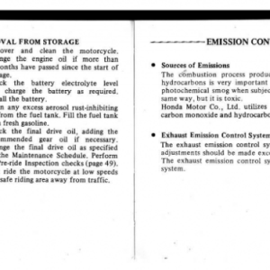 1982 A Owners Manual Pages 90 & 91