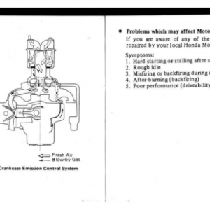 1982 A Owners Manual Pages 92 & 93