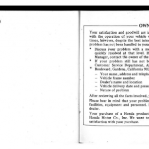 1982 A Owners Manual Page 100