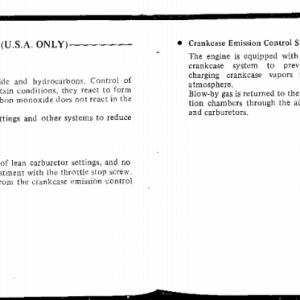 Owners Manual- 1983 GL1100 Aspencade Pages 100 & 101