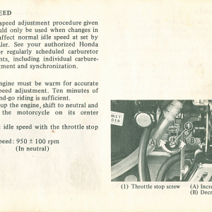 1980 S Owners Manual Page 57