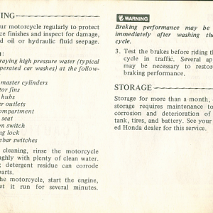 1980 S Owners Manual Page 68