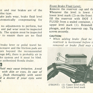 1980 S Owners Manual Page 62