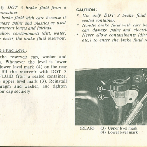 1980 S Owners Manual Page 63