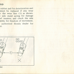 1980 S Owners Manual Page 65