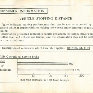 1980 S Owners Manual Page 73