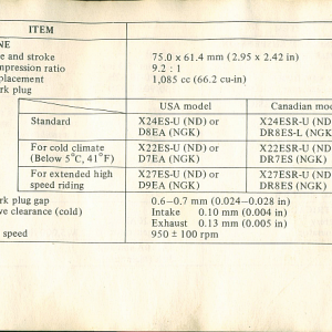 1980 S Owners Manual Page 77