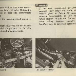 Owners Manual- 1981 GL1100 Interstate Page 9