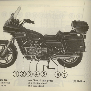 Owners Manual- 1981 GL1100 Interstate Page 12