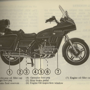 Owners Manual- 1981 GL1100 Interstate Page 13