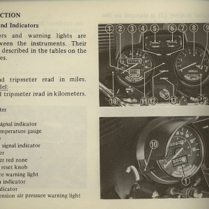 Owners Manual- 1981 GL1100 Interstate Page 16