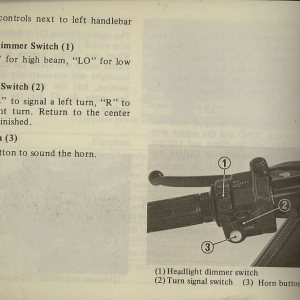 Owners Manual- 1981 GL1100 Interstate Page 22