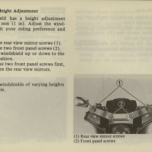 Owners Manual- 1981 GL1100 Interstate Page 31