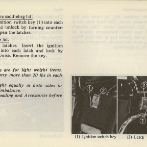 Owners Manual- 1981 GL1100 Interstate Page 35