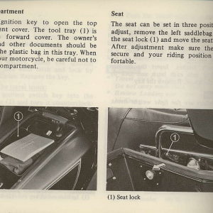 Owners Manual- 1981 GL1100 Interstate Page 36