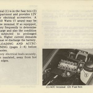 Owners Manual- 1981 GL1100 Interstate Page 37