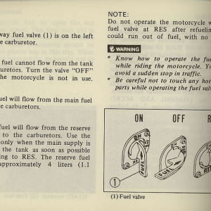 Owners Manual- 1981 GL1100 Interstate Page 38