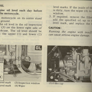 Owners Manual- 1981 GL1100 Interstate Page 40