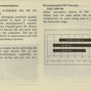 Owners Manual- 1981 GL1100 Interstate Page 41