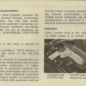 Owners Manual- 1981 GL1100 Interstate Page 43