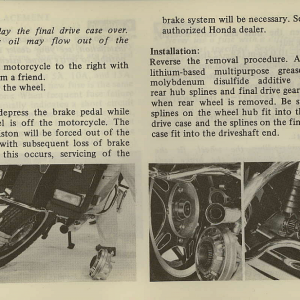 Owners Manual- 1981 GL1100 Interstate Page 59