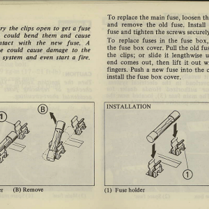 Owners Manual- 1981 GL1100 Interstate Page 62