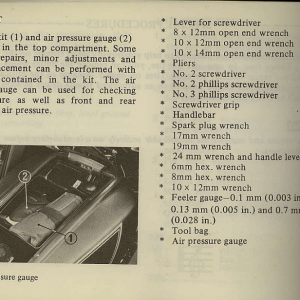 Owners Manual- 1981 GL1100 Interstate Page 54