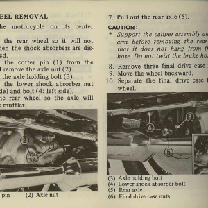 Owners Manual- 1981 GL1100 Interstate Page 58