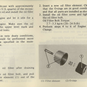 Owners Manual- 1981 GL1100 Interstate Page 69