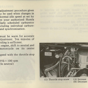 Owners Manual- 1981 GL1100 Interstate Page 71